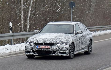 Bmw 3 Series 2019 Design by 2019 Bmw 3 Series Prototype Shows Production Design Looks