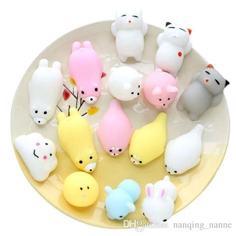 Squishy Bun Animal Jumbo wholesale squishy rising jumbo bun toys animals