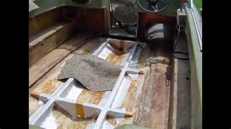 best wood for boat stringers 1972 newman new stringers and new floor doovi