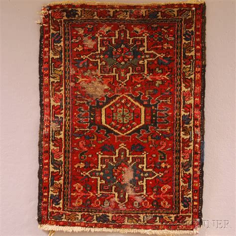 Three Small Oriental Rugs And A Machine Made Rug Sale Machine Made Rugs