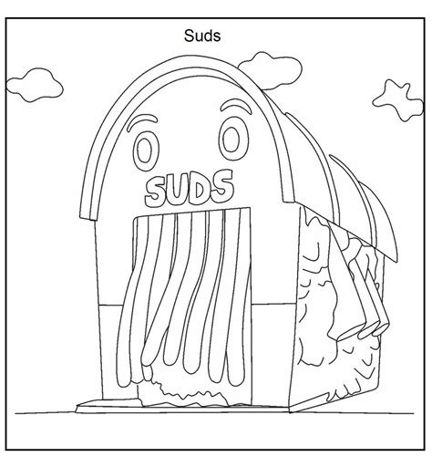wash free coloring pages