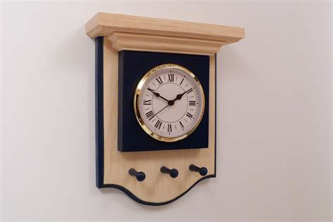 wall clock wood wall clock handmade clock clock wooden