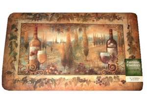 Tuscan Kitchen Rugs Tuscan Themed Kitchen Rug Foam Mat