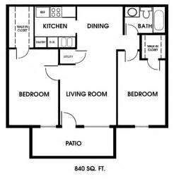 2 Bedroom Floor Plans by Clearview Apartments Mobile Alabama 2 Bedroom Floor Plan