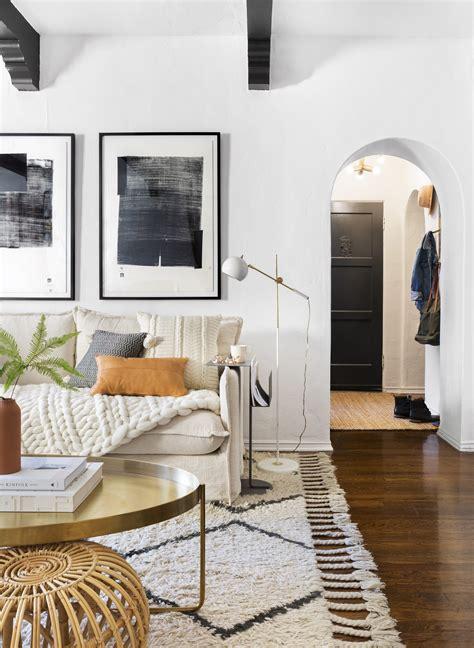 room redo warm modern living room copycatchic