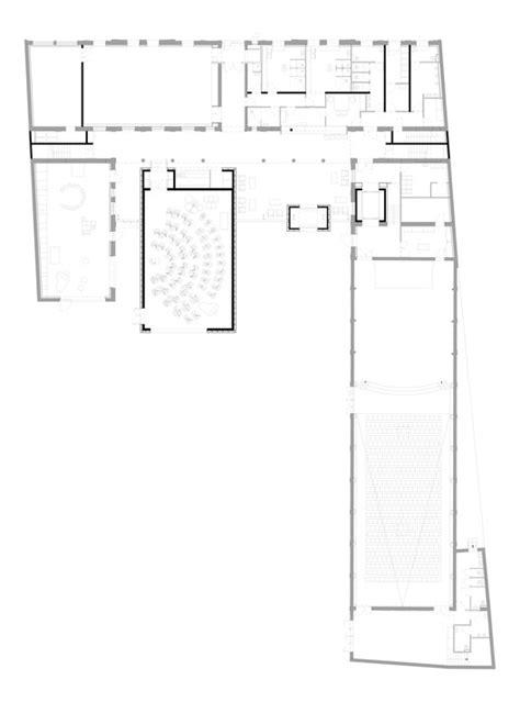 sound academy floor plan music academy of roubaix zig zag architecture archdaily