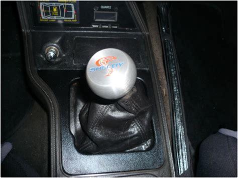 Shift Knob Installation by Mustang Shift Knob 79 04 Installation