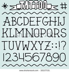 old school tattoo lettering lettering practice by fonts on pinterest cool fonts alphabet old school
