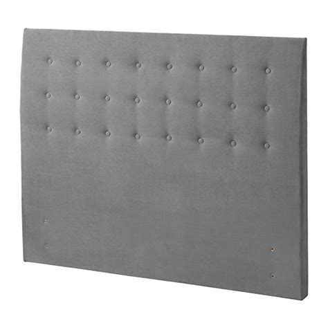 ikea grey headboard rugsund headboard button tallmyra grey standard double ikea