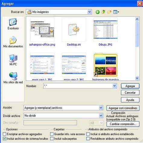 comprimir imagenes jpg en linea c 243 mo comprimir archivos con winzip