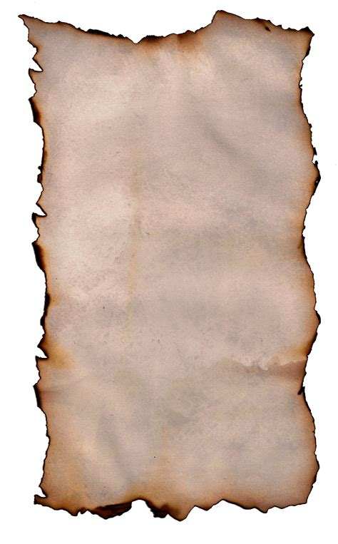 How To Make Burnt Paper - burnt paper clipart best