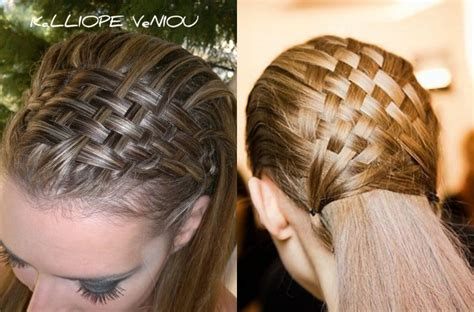 Weave Hairstyles Braids by Awesome Basket Weave Braids Hairstyles Hairdrome