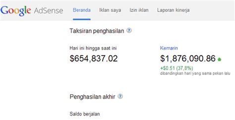 tutorial google adsense indonesia cara daftar google adsense agar mudah diterima blog