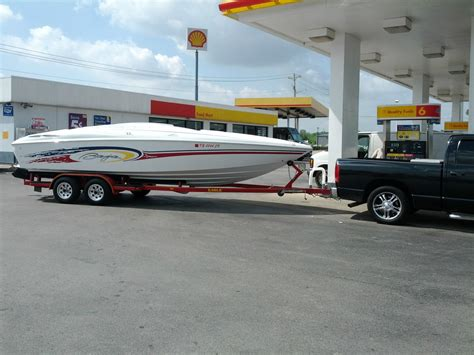 baja boats h2x baja h2x speed boat 24 6 w eagles trailer 2001 for sale