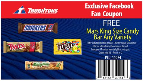 coupons mars candy