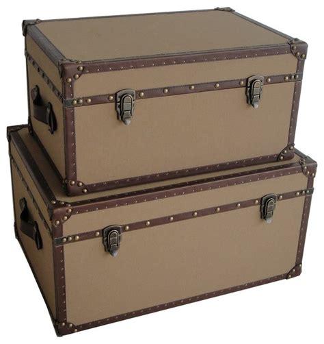 decorative trunks valencia rectangle canvas trunks traditional