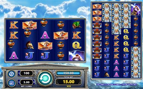 zeus  slot machine game  play  dbestcasinocom