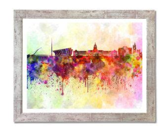 watercolor tattoos dublin 15 best images about dublin skyline on