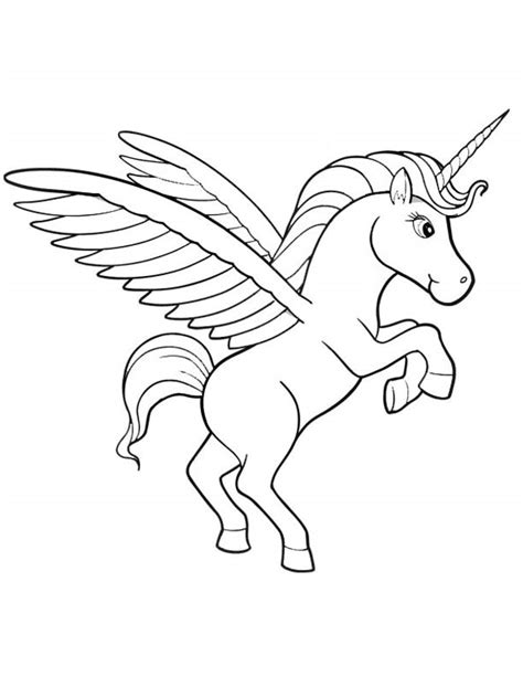 unicorn with rainbow coloring page unicorn coloring pages as mystical and majestic they are