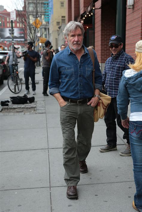 dlisted a bearded harrison ford seen with a friend in