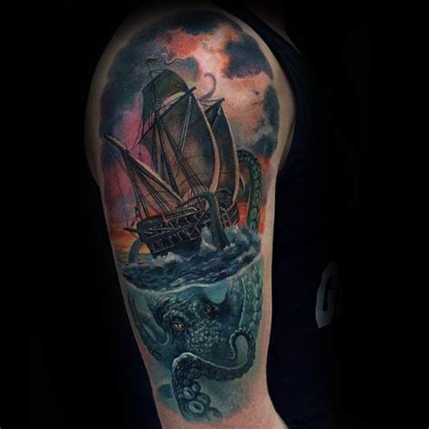 monsters ink tattoo best 25 kraken ideas on kraken pulpo