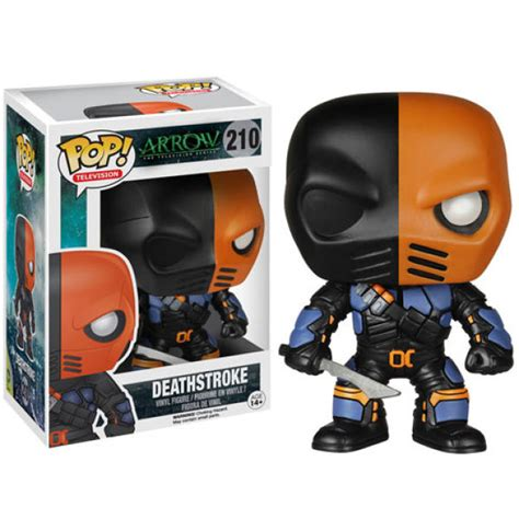 Funko Pop Deathstroke Dc dc comics arrow deathstroke funko pop figuur zavvi nl