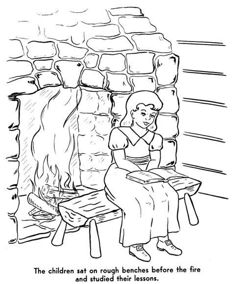 colonial house coloring page colonial life coloring pages coloring home