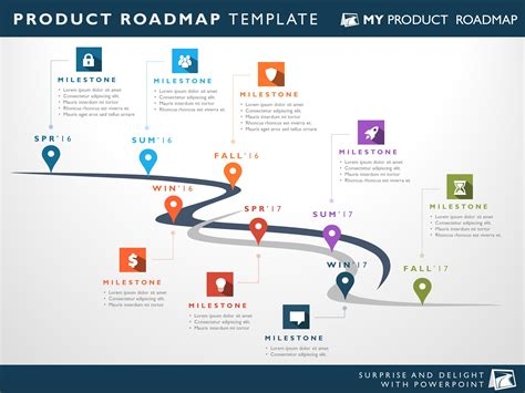 Eight Phase Software Planning Timeline Roadmap Powerpoint Diagram Product Roadmap Powerpoint Template