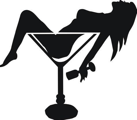 cocktail silhouette 1000 images about sjablonen on pinterest stencils