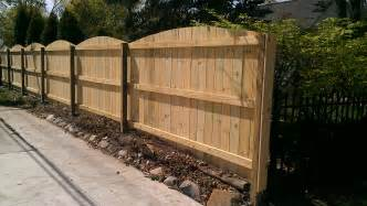 Privacy fence convex