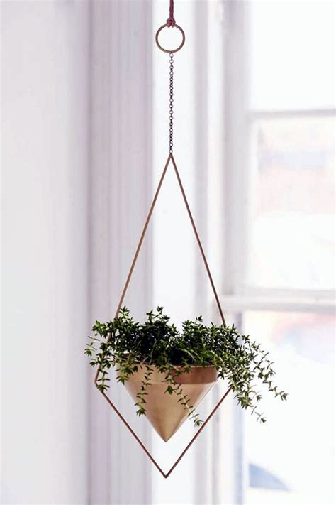 elegant diy hanging planter ideas  indoors bored art