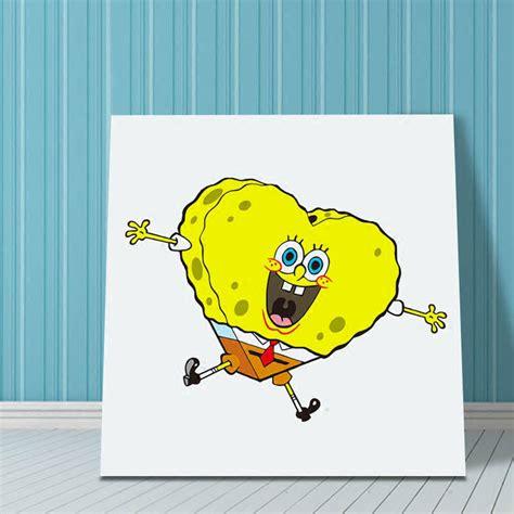 wallpaper spongebob biru stiker dinding ruang tamu biru stiker dinding murah