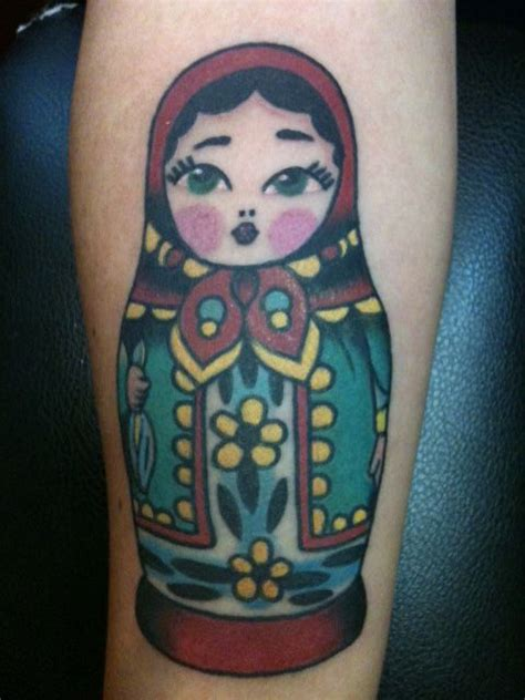 russian nesting doll tattoo russian matryoshka doll matryoshka dolls