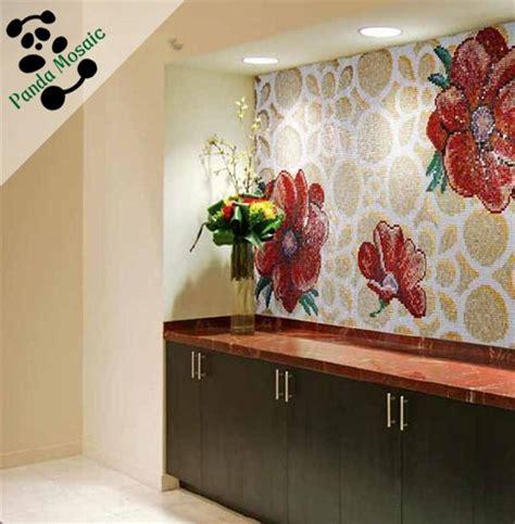 Handmade Wall Murals - smm15 b handmade glass mosaic bedroom wall tile