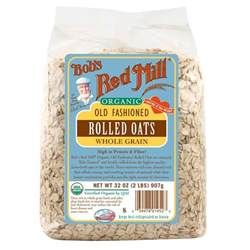 bob s red mill organic old fashioned rolled oats whole