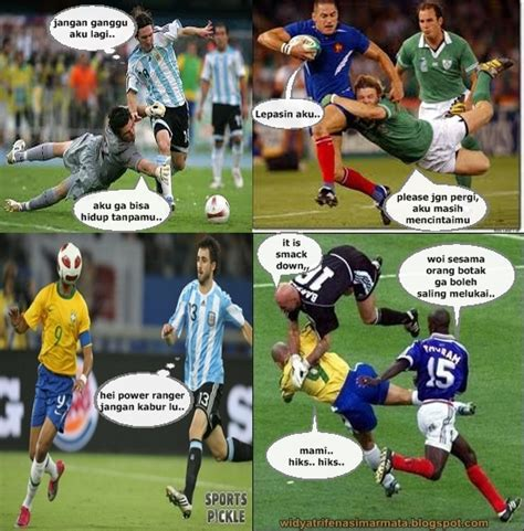 wallpaper gambar lucu pemanin sepak bola romantisp