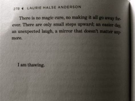 theme quotes from speak by laurie halse anderson beautiful wisdom and i am on pinterest