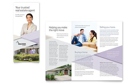 realtor brochure template realtor brochure template design