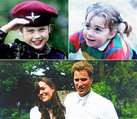 prince william and kate middleton childhood pictures kate middleton s and prince william s childhood photos