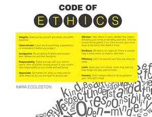 personal code of ethics template personal code of ethics paper buy it now get free bonus