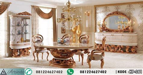 Makan Meja Di Golden Leaf meja makan set klasik 6 kursi ukiran eropa mewah by mebel jepara harga pintu