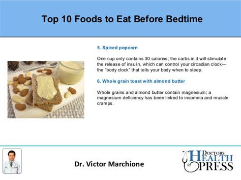 best foods to eat before bed top 10 foods to eat before bed