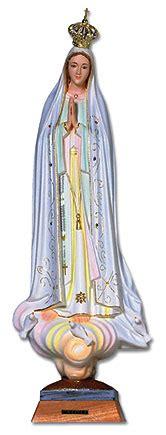 le lade di sale 29 quot our of fatima statue