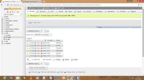 cara membuat database tabel di xp cara mengisi atau membuat tabel pada database menggunkan
