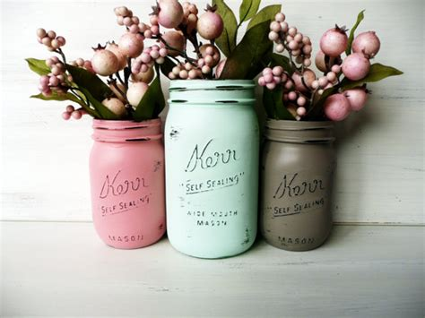 home decor jars pretty mason jar home decor on etsy love wedding