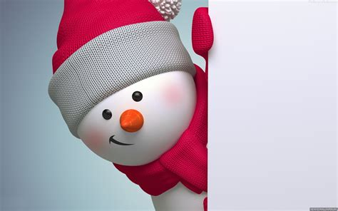 cute snowman wallpaper  wallpapersafari