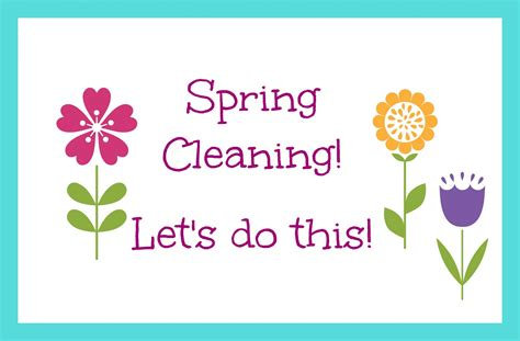 spring cleanup how to create your spring cleaning plan