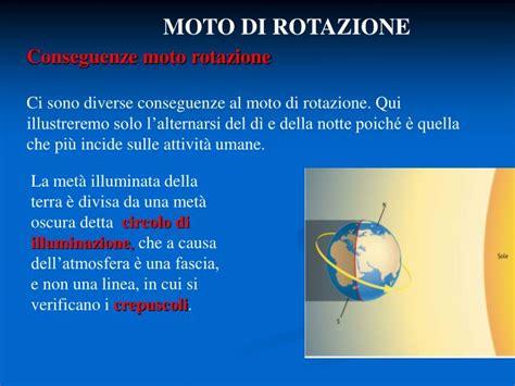 circolo di illuminazione della terra ppt moti della terra powerpoint presentation id 3904692