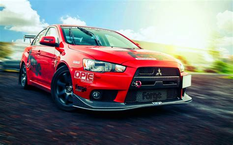 mitsubishi evo red and black mitsubishi lancer evolution x red cars hd wallpapers