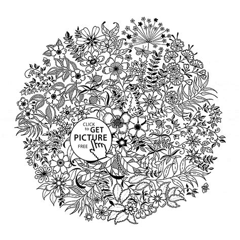 beautiful realistic flowers coloring page for kids flower